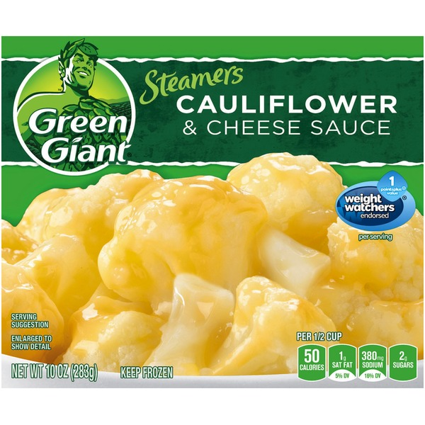 Green Giant Cauliflower & Cheese Sauce Steamers