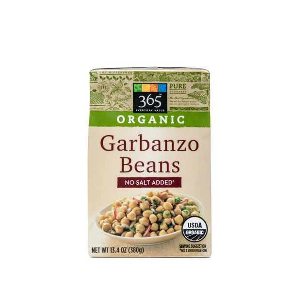 365 Garbanzo Beans, No Salt Added