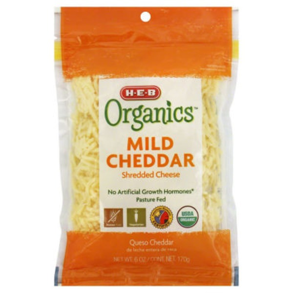 H-E-B Shredded Mild Cheddar Cheese