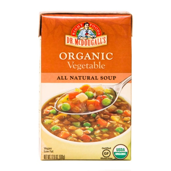 Dr. McDougall's Organic Vegetable Soup