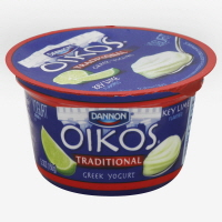 Dannon Oikos Greek Yogurt Traditional Key Lime