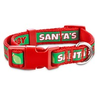 Small Holiday Santa Baby Adjustable Collar