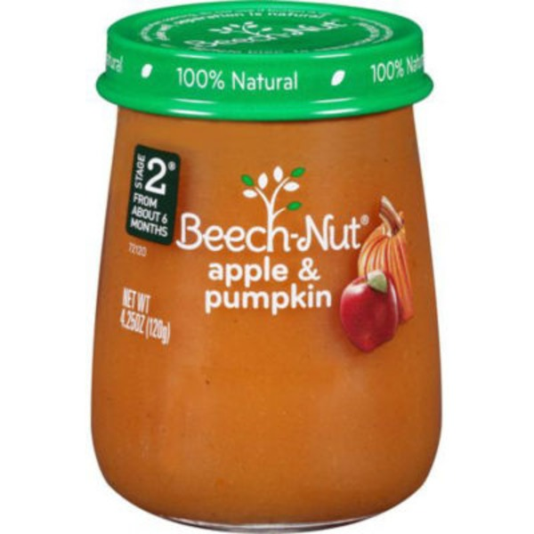 Beech-Nut Naturals Stage 2 Apple & Pumpkin