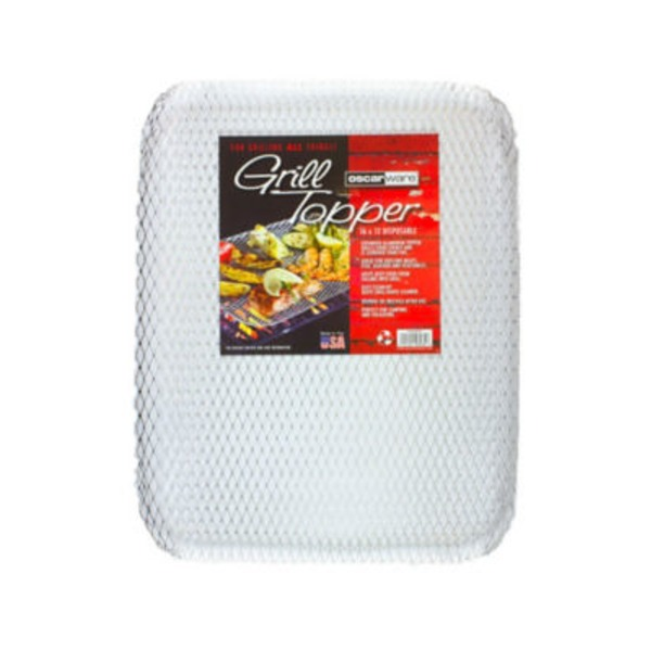 Oscarware Disposable Grill Topper 16