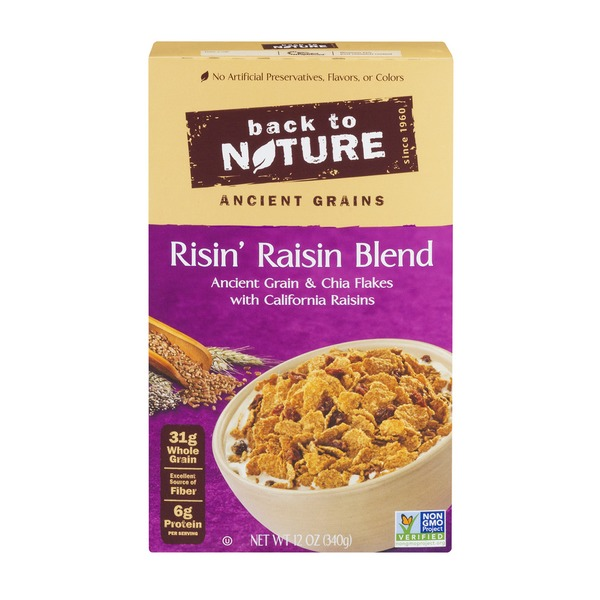 Back to Nature Ancient Grains Risin' Raisin Blend Cereal