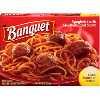 Banquet Spaghetti & Meatballs Meal