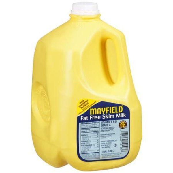 Mayfield Milk, Fat Free