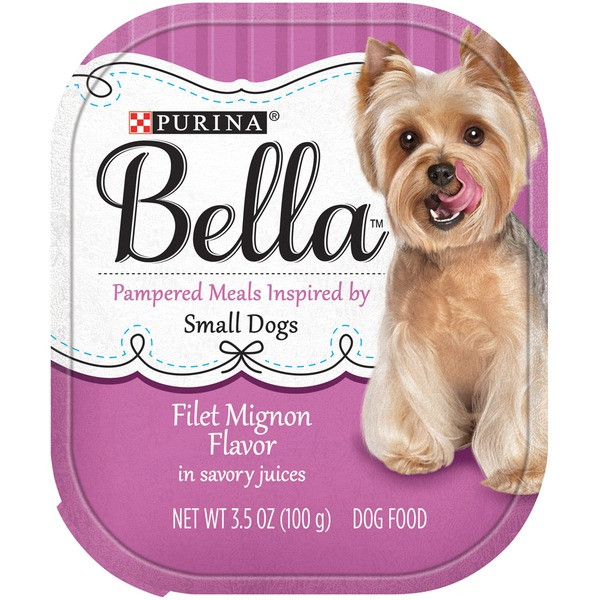 Bellas Filet Mignon Flavor in Savory Juices Dog Food
