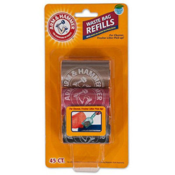 Arm & Hammer Waste Bag Refills - 45 CT