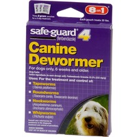 Safe-Guard 4 8-in-1 Canine Dewormer