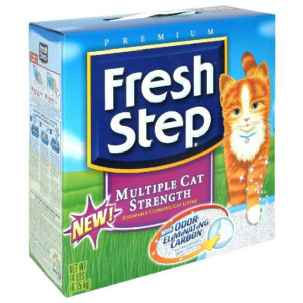 Fresh Step Scoopable Cat Litter Scented Multi-Cat