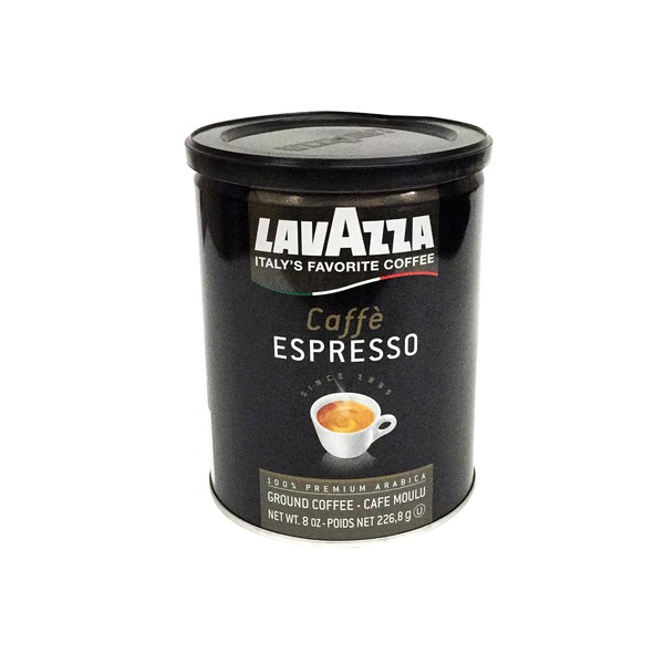 LavAzza Caffe Espresso 100% Premium Arabica Ground Coffee