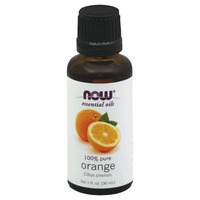 Now 100% Pure Orange Essential Oil