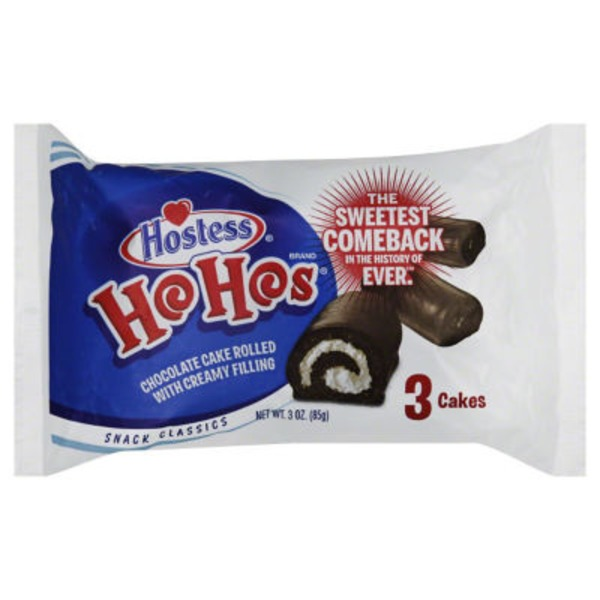 Hostess Ho Hos Cakes
