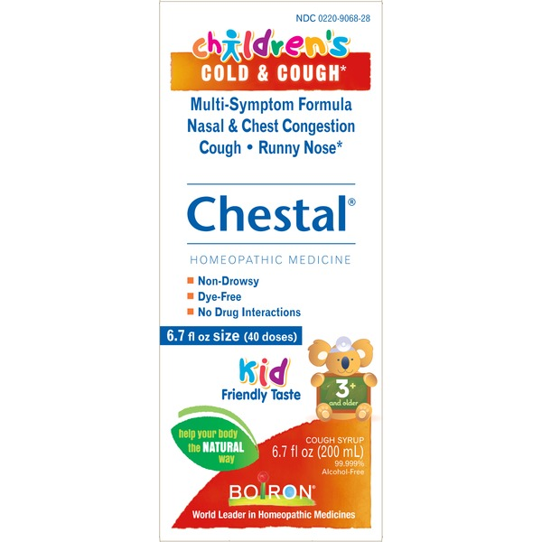 Boiron Children's Chestal Homeopathic Medicine