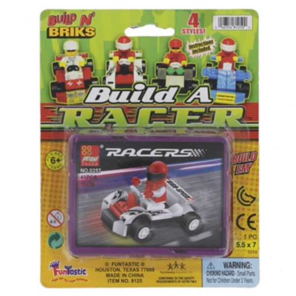 Funtastic Assorted Colors & Designs Build A Racer