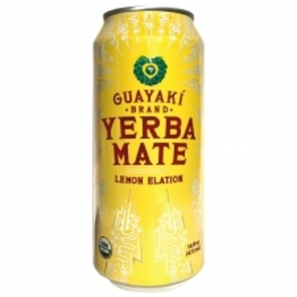 Guayaki Organic Lemon Elation Yerba Mate