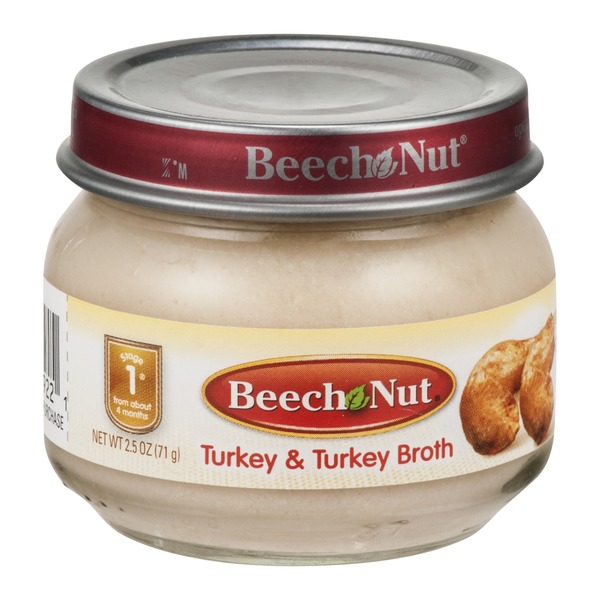 Beech-Nut CLASSICS Stage 1 Turkey & Turkey Broth
