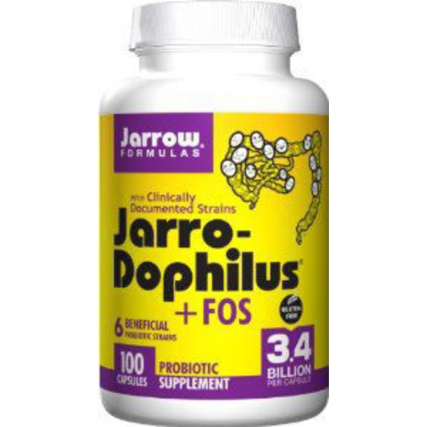 Jarrow Formulas Jarro-Dophilus + FOS Probiotic Supplement