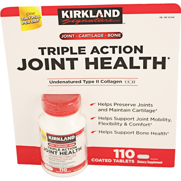 Kirkland Signature Triple Action Joint Health