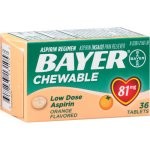 Bayer Aspirin Regimen Pain Reliever Low Dose Chewable Tablets Orange - 81mg, 36.0 CT