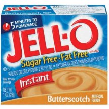 Jell-O Instant Pudding & Pie Filling Sugar Free Butterscotch, 1 Oz