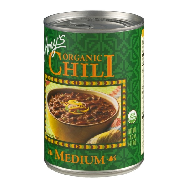 Amy's Organic Medium Chili Soup