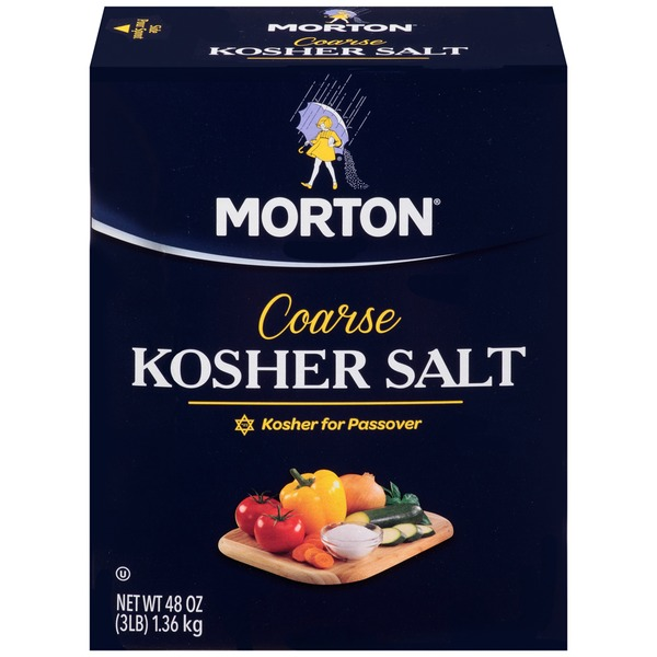 Morton Coarse Kosher Salt Coarse Kosher Salt