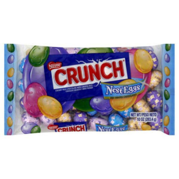 Nestle Crunch Creamy milk chocolate with crisped rice Milk Chocolate Candy
