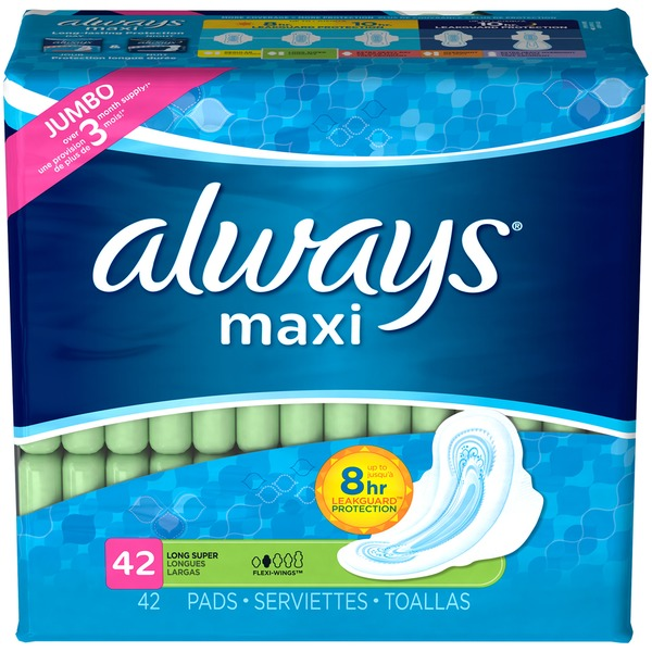 Stayfree Super Long with Wings Maxi Pads