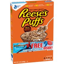 Reese's Peanut Butter Puffs Cereal, 13 oz, 13.0 OZ