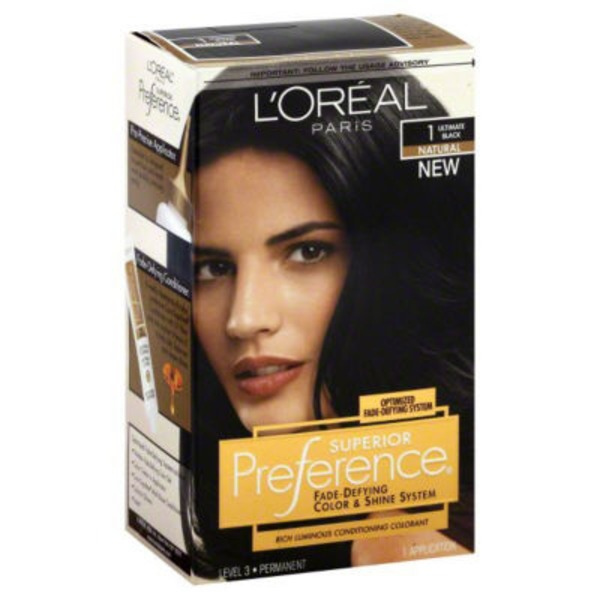 Superior Preference Natural 1 Ultimate Black Hair Color