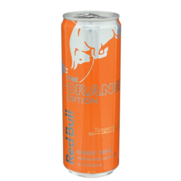 Red Bull The Orange Edition Tangerine Energy Drink