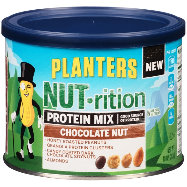 Planters Protein Chocolate Nut NUT-rition Mix