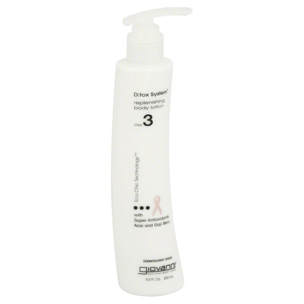 Giovanni D-Tox System Replenishing Body Lotion Step 3