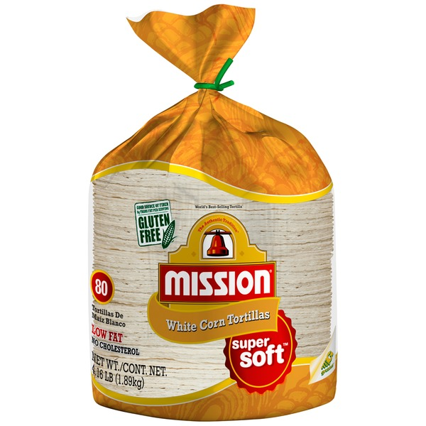 Mission White Corn Tortillas