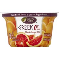 Open Nature Greek Yogurt Blood Orange