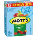 Mott's Medleys Fruit Snacks, Assorted Fruit Gluten Free Snacks, Family Size, 40 Pouches, 0.8 oz Each, 40.0 CT