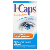 ICaps Lutein & Zeaxanthin Formula, Coated Tablets, 120 ct