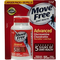 Schiff Move Free Advanced Glucosamine Chondroitin Tablets