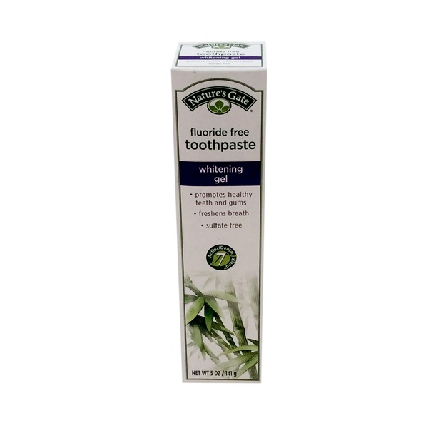 Nature's Gate Toothpaste Whitening Gel