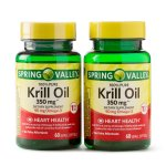 Spring Valley Krill Oil Softgels, 350 mg, 60 Ct, 2 Pk