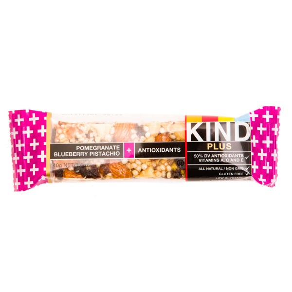 KIND Pomegranate Blueberry Pistachio Plus Antioxidants Fruit & Nut Bar