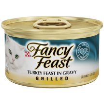 Purina Fancy Feast Turkey Feast in Gravy Cat Food 3 oz. Can