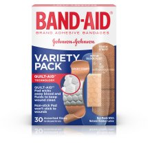 BAND-AID® Brand Active Lifestyles Variety Pack Adhesive Bandages Helps Minor Cuts Heal Faster, 30 Count