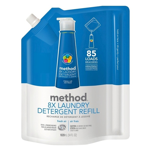 Method Fresh Air High Efficiency Laundry Detergent Refill