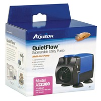Aqueon Quiet Flow Submersible Utility Pump 1700