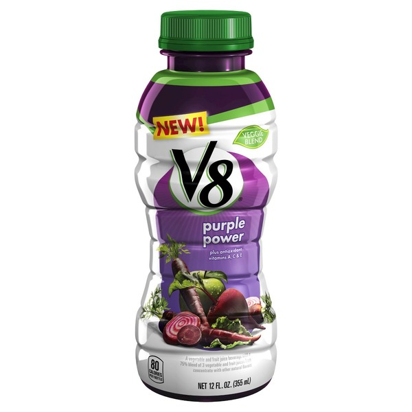 V8 Purple Power Vegetable & Fruit Juice Beverage