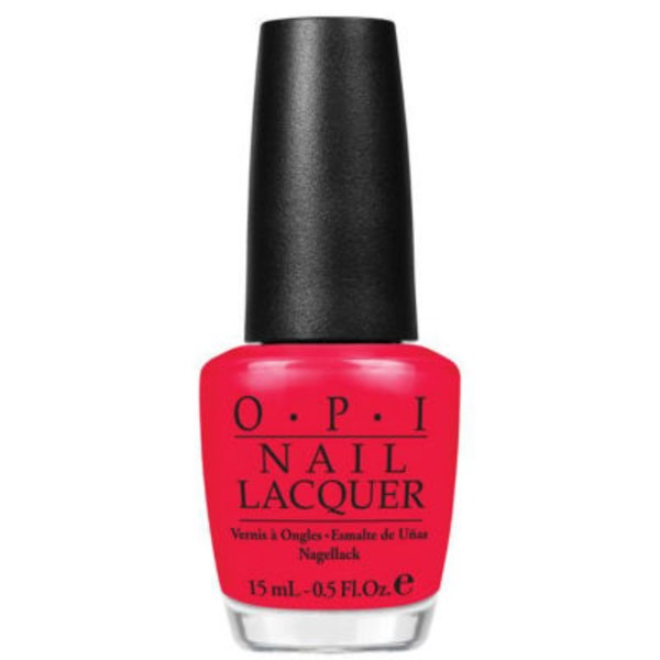 OPI Red Lights Ahead...Where? Nail Lacquer