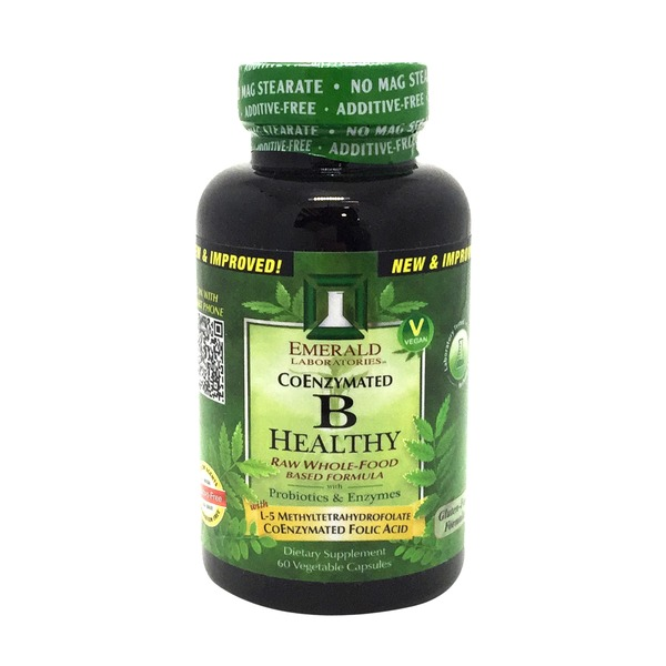 Emerald Cove B Healthy Raw Whole-Food Based Formula with Prebiotics, Enzymes & Probiotics